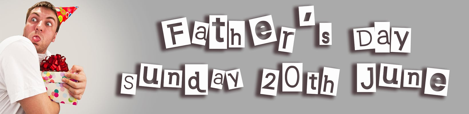 Father's Day Sunday 20th June